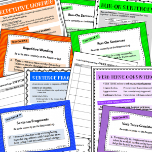Task Cards for Better Writing