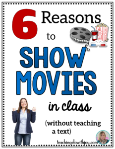Relax and show a great movie! Read about ways you can enhance your students' learning using films.
