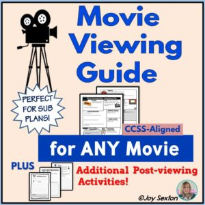 Movie Viewing Guide Resource