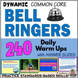 Bellringers - 240 Daily Warm-ups by Joy Sexton