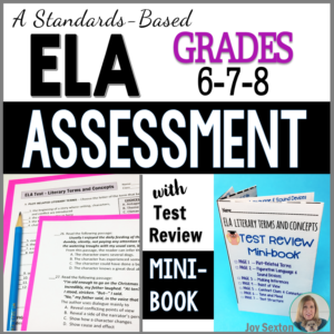 ElaTest-TestPrep-Middle School-TeachingELAwithJoy