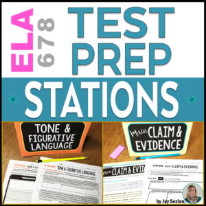 TestPrepStations-TeachingELAwithJoy.com